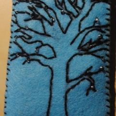 Felt Cell Phone Pouch