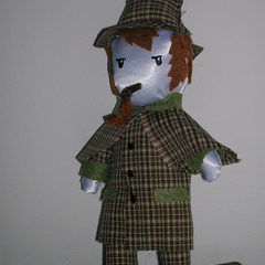 Sherlock Holmes Plush