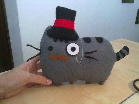 .  Make a cat plushie by drawing and sewing Inspired by cats, kawaii, and pusheen. Version posted by Ana M. Difficulty: Simple. Cost: Cheap.