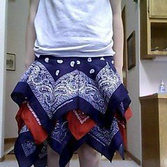Super Cute Handkerchief Skirt!