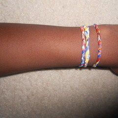 Recycled Bag Bracelets