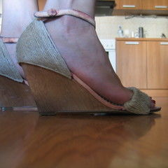 Twine Covered Wedges