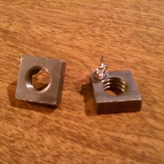 Square Thingy Post Earrings