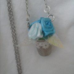 Thimble Flower Necklace