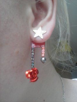 Some of my favourites ;3 .  Make a pair of shrink plastic earrings in under 30 minutes using beads, nail polish, and earring hooks. Inspired by flowers and clothes & accessories. Creation posted by Allyne. Difficulty: Easy. Cost: Absolutley free.