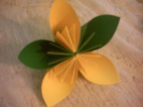 Kusadama Origami Flower An Origami Flower Paper Folding And