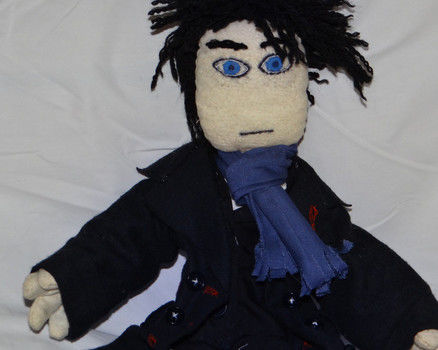The game is on. .  Sew a TV show plushie by drawing, embroidering, sewing, and decorating with stuffing, pencil, and permanent marker. Inspired by tv shows, british, and kawaii. Creation posted by KairiSteampunk. Difficulty: 3/5. Cost: Cheap.