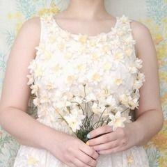 3d Embellished Dress