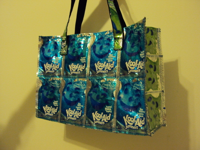 Kool Aid Bag 183 A Recycled Tote 183 Sewing On Cut Out Keep