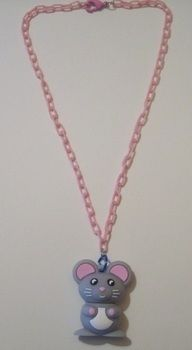 Super cute and just as functional! .  Make a recycled necklace in under 10 minutes by jewelrymaking with jump rings, chain, and clasps. Inspired by animals, creatures, and geeky. Creation posted by PixiePlight. Difficulty: Easy. Cost: Cheap.