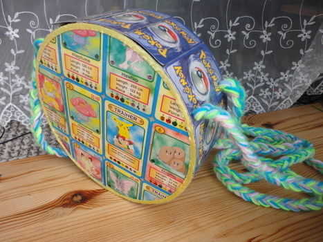 .  Make a recycled bag Inspired by pokemon and clothes & accessories. Version posted by Karolin. Difficulty: 3/5. Cost: Absolutley free.