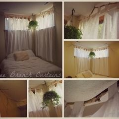 Tree Branch Curtains