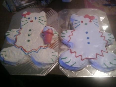 .  Decorate an animal cake in under 60 minutes by decorating food and cake decorating with cake mix, icing, and cake pan. Inspired by hello kitty and cats. Creation posted by Erica C. Difficulty: Easy. Cost: Cheap.