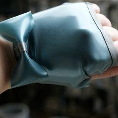 Latex Fingerless Gloves