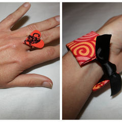 How To Turn A Toilet Roll Into A Stunning Bracelet