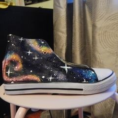 Nebula Stardust Sneakers?