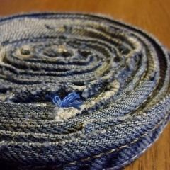 Old Jeans Coaster