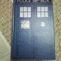 Tardis Hidden Book Box