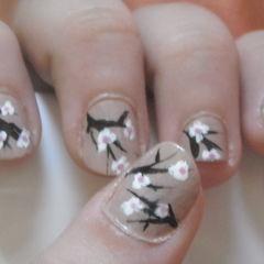 Almond Blossom Nails!