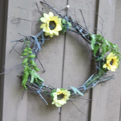 Branches And Leaves Wreath