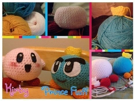 Kirby's Epic Yarn come to life! .  Make a Kirby plushie in under 120 minutes by yarncrafting, crocheting, and amigurumi with acrylic paint, embroidery thread, and yarn. Inspired by kawaii, gameboy, and kirby. Creation posted by gypsie_jay.  in the Yarncraft section Difficulty: Simple. Cost: Cheap.