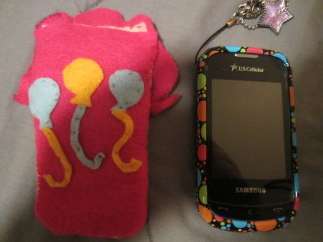 Pinkie Pie Phone Case -from my little pony .  Sew a fabric character pouch in under 120 minutes by sewing with felt and thread. Creation posted by Afilover47. Difficulty: 3/5. Cost: Absolutley free.