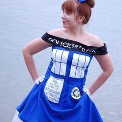 The Tardis Dress