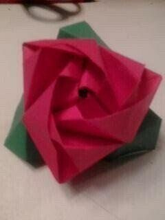 .  Fold an origami rose in under 50 minutes by paper folding and paper folding Inspired by roses. Version posted by Amie(:. Difficulty: 3/5. Cost: No cost.