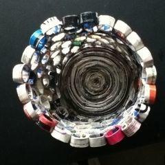 Magazine Waste Basket