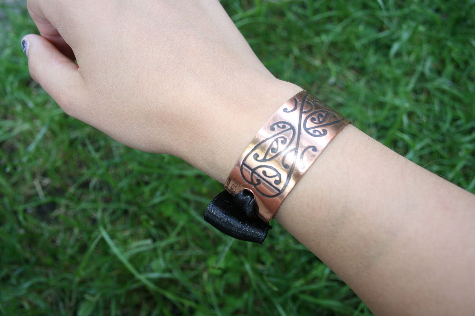 From Napkin Ring To Bracelet · How To Make A Recycled Bracelet ...