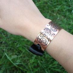 Square hight tea en armband 017