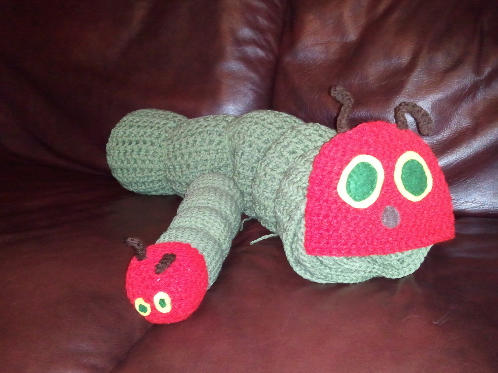 The Very Hungry Caterpillar Crochet Blanket And Toy · A Baby Blanket ...