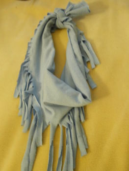 .  Make a fabric fringe scarf in under 10 minutes by not sewing Inspired by clothes & accessories. Version posted by mlarmalade. Difficulty: Easy. Cost: No cost.
