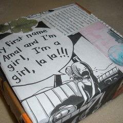 Comic Collage Box