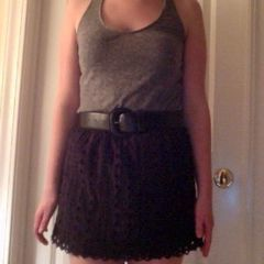 No Sew Shirt To Skirt