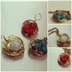 Bird Nest Pendant & Ring