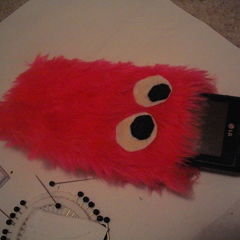 Monster Cellphone Pouch