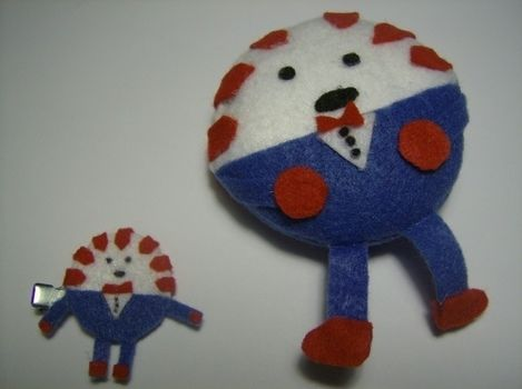 .  Make a candy plushie in under 60 minutes by sewing Version posted by Lisa T. Difficulty: Simple. Cost: Absolutley free.