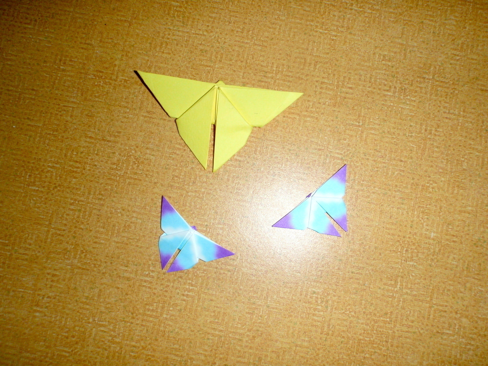 Simple Origami Butterfly · An Origami Animal · Paper ... - photo#41