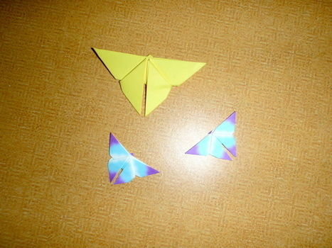 .  Fold an origami animal in under 2 minutes by paper folding, paper folding, and paper folding Inspired by vintage & retro, kawaii, and butterflies. Version posted by Olivia H. Difficulty: Easy. Cost: No cost.
