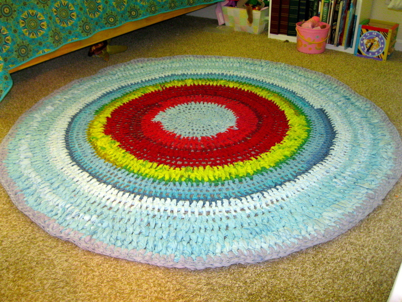 Crochet Rug A Rag On
