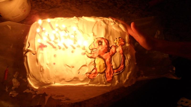 Charmander Cake 183 A Cartoon Cake 183 Drawing Baking And