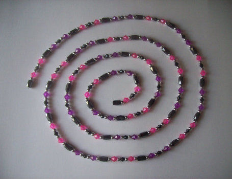 We're all mad here! .  Free tutorial with pictures on how to make a memory wire bracelet in under 60 minutes by jewelrymaking with beads, cord, and spacer beads. Inspired by alice in wonderland, kawaii, and clothes & accessories. How To posted by PixiePlight. Difficulty: Simple. Cost: Cheap. Steps: 1