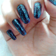Quickly Galaxy Nails