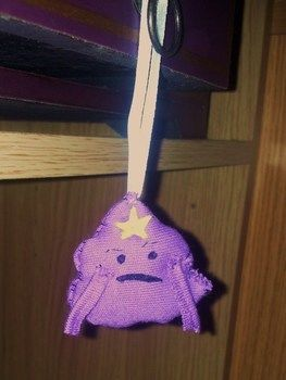 Oh my Glob its LSP! .  Sew a fabric character charm in under 60 minutes by sewing with fabric. Inspired by crafts and adventure time. Creation posted by Hayley S. Difficulty: Easy. Cost: No cost.