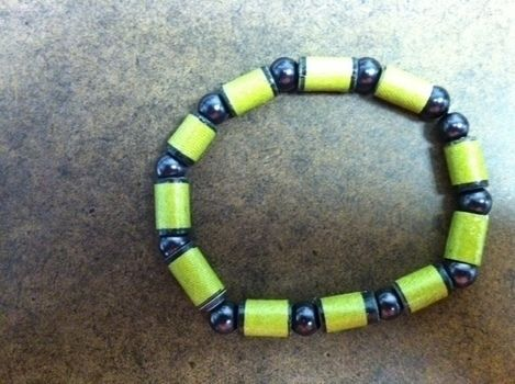 .  Make a paper bead in under 20 minutes by jewelrymaking Version posted by CreationsbyCrystalBo. Difficulty: Simple. Cost: No cost.
