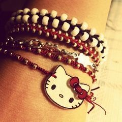 Hello Kitty Toggle Clasp