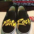 Lmfao Party Rock Painted Shoes