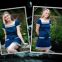 Square sailordress