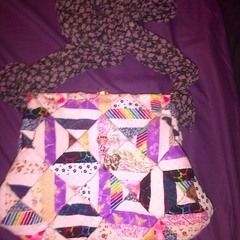 Patch Work Hand Bag